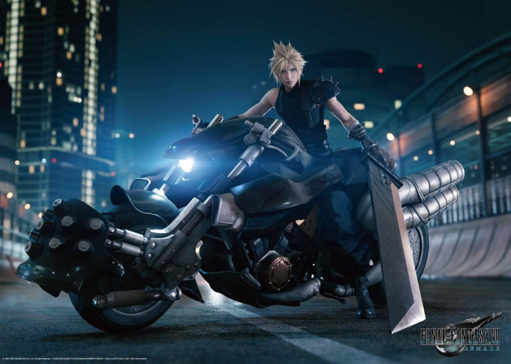 Square Enix Final Fantasy Vii Remake 1 000 Pieces Jigsaw Puzzle Final Fantasy Vii Final Fantasy Collection Final Fantasy Characters