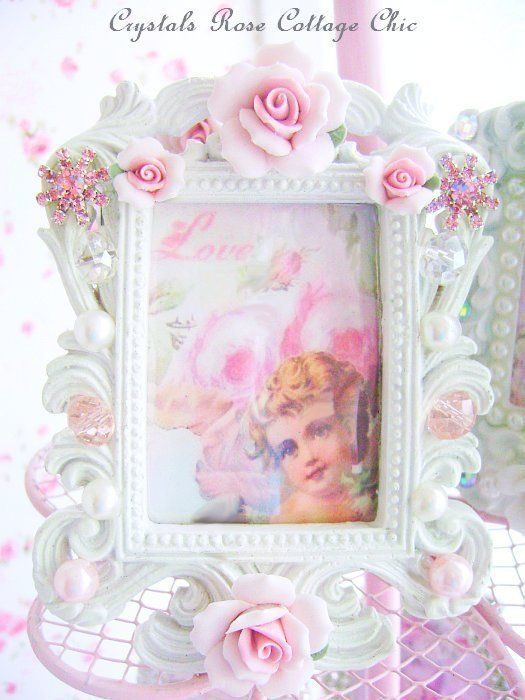 Shabby Chic Country Romantic Frame.Sweet And Shabby Petite Frame Shabby Chic Romantic