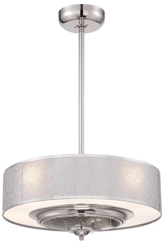 Hidden Ceiling Fan cozette indoor ceiling fan - ceiling fans with lights - modern