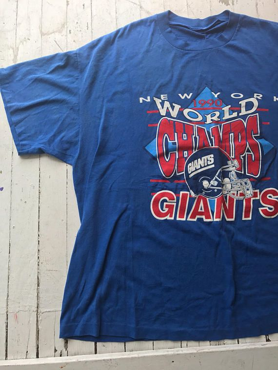 a04ff68f4 Vintage New York Giants Tee   90s NY Giants Tee   NFL Tee   Vintage Tshirt    Tshirt   Soft Vintage