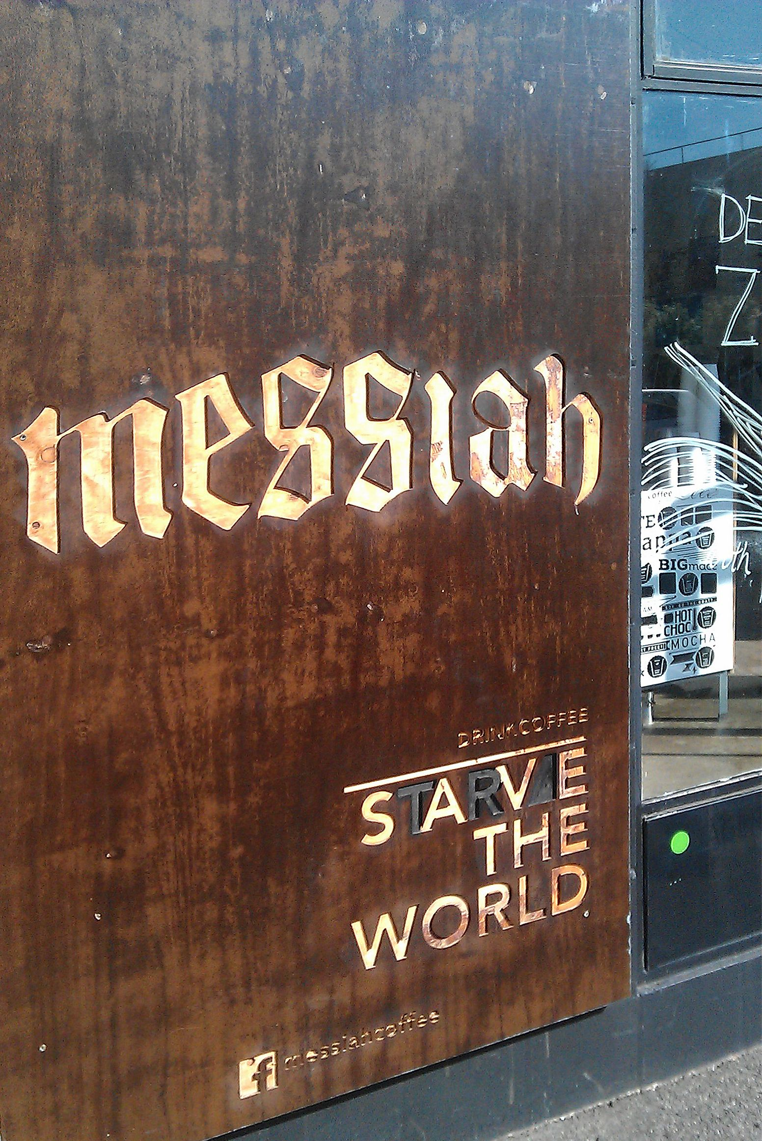 Messiah Cafe Tasmania Australia Retro Strong Coffee Cool Board And Nice Magazines Price You Nominate Profits Go To World Hunger