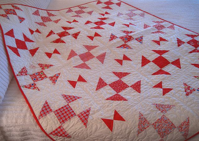 Shoo Fly Quilt By Pamkittymorning Via Flickr Quilts Churn Dash Quilt Vintage Quilts
