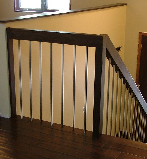 Stair Railing Plain Balusters Wooden Post Amp Rails Diy Stair Railing House Stairs Indoor Railing