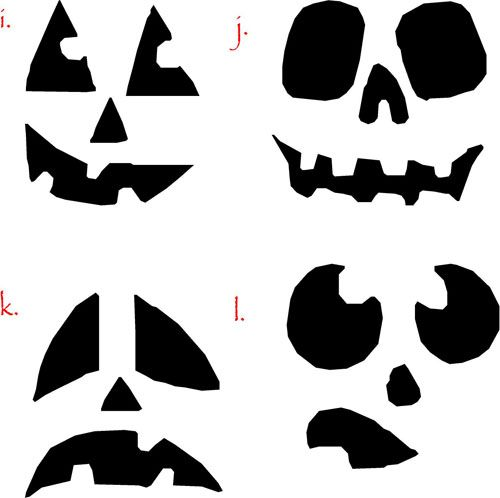 Darling Halloween Luminaries | Face, Halloween ideas and Holidays