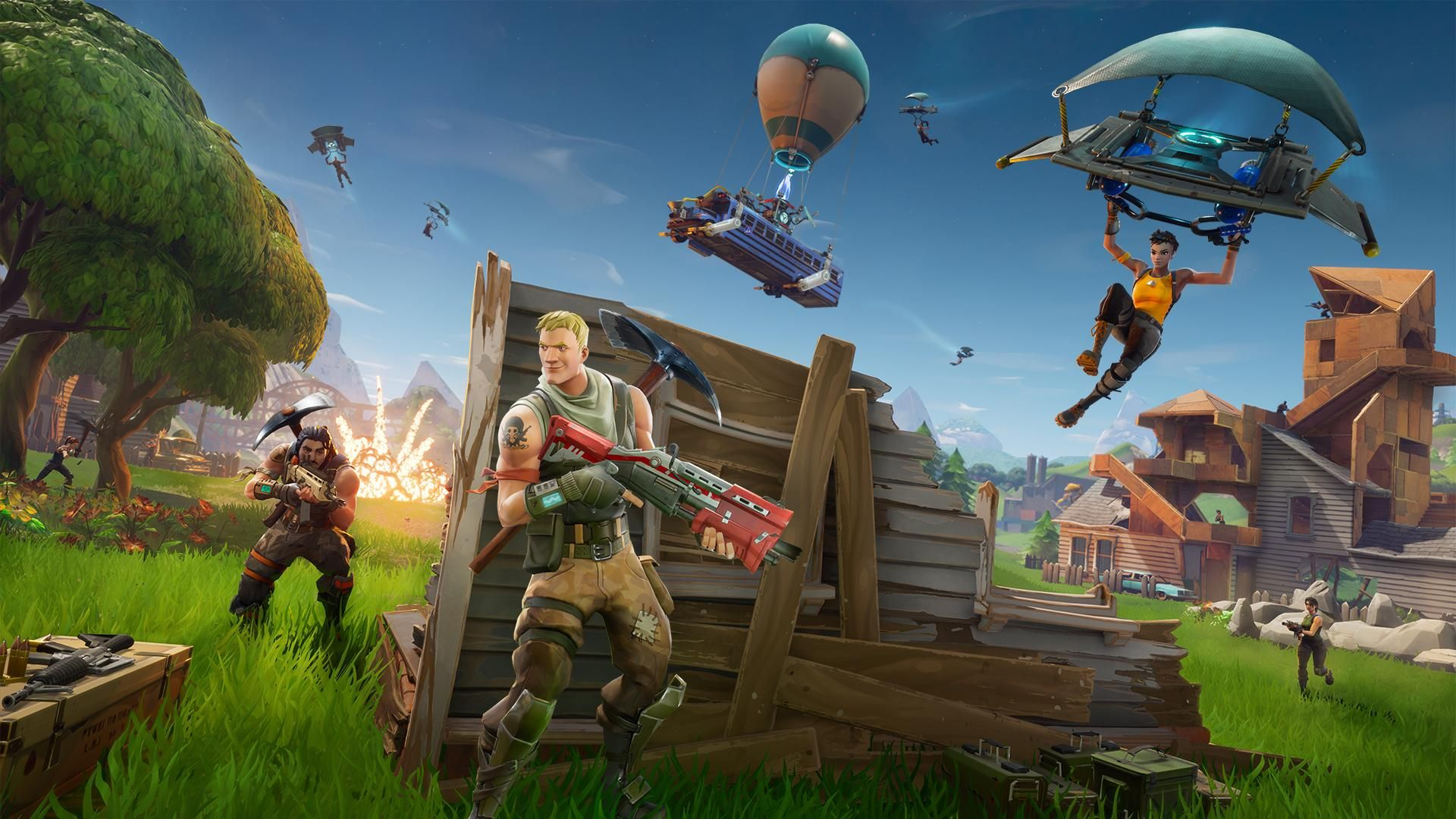 A Guide To Fortnite Battle Royale The Video Game Taking Over The