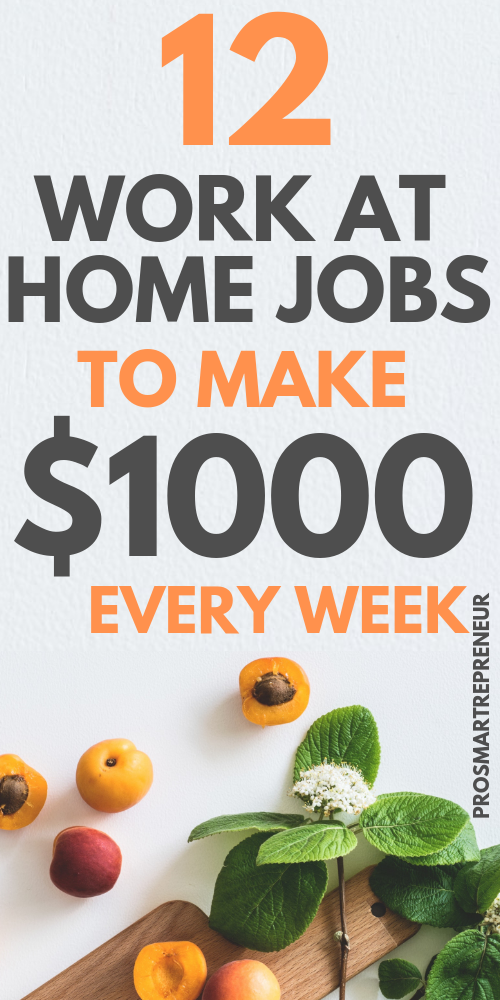 10 Best Work From Home Jobs For 2020 That Makes 5000 Monthly