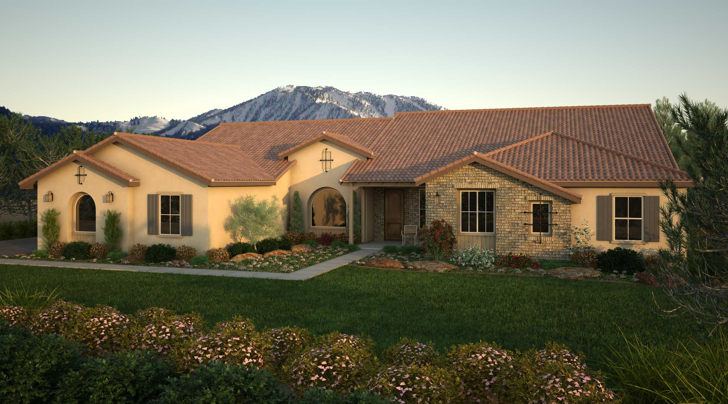 Le Pinot Grigio Spanish Ranch Jpg 2 400 1 333 Pixels New Homes For Sale New Homes Home