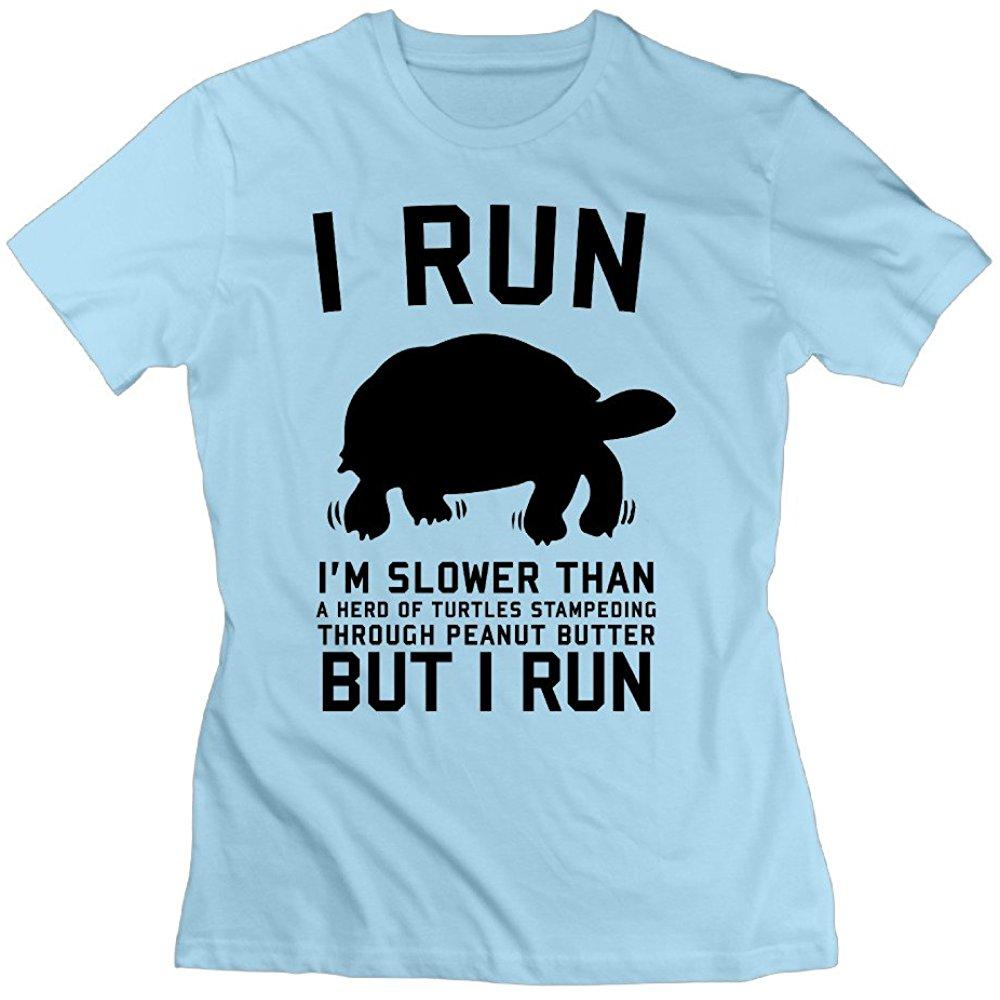 But I Run Optimum Female Tshirt Colleges Shirts T Shirts 80s College Shirts T Shirt T Shirts For Women