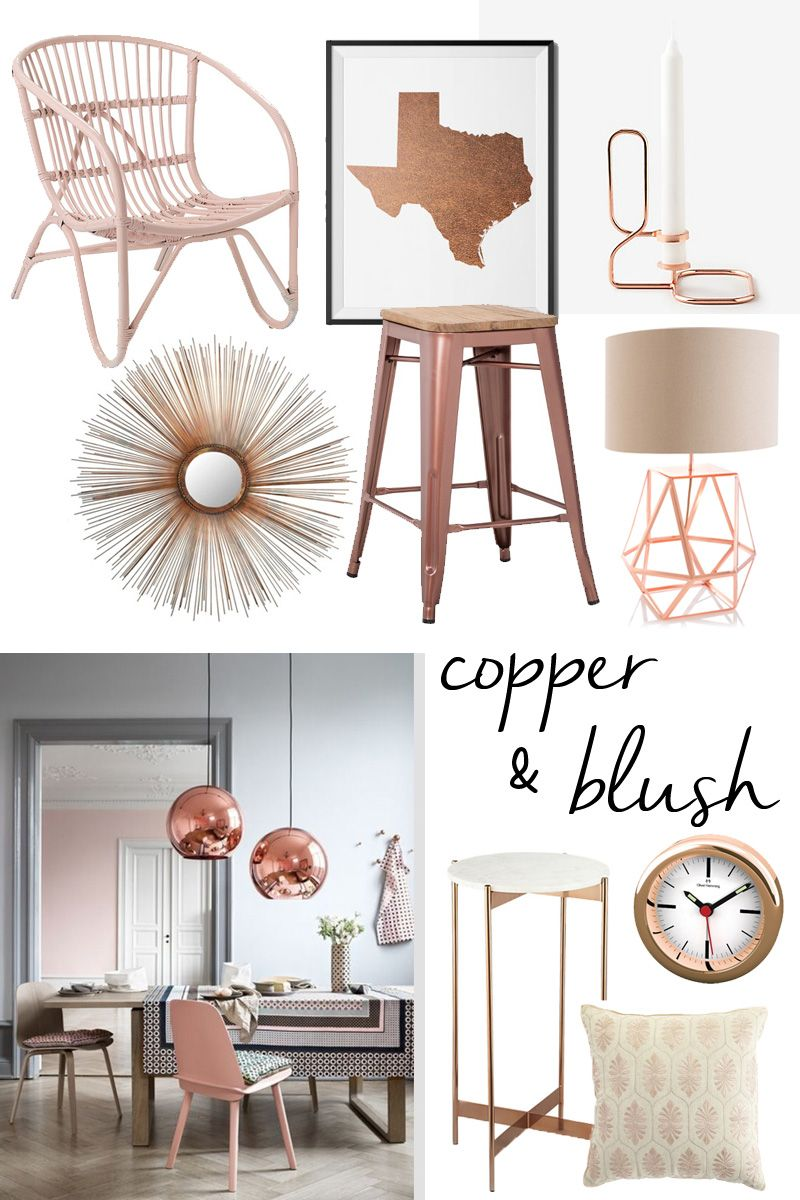 Copper & Blush Accents | The LV Guide | For the Home ...