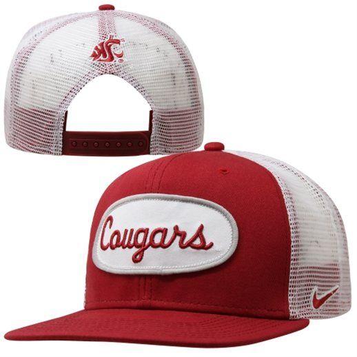 6c55ad75490 black wsu cougar trucker hat - Google Search