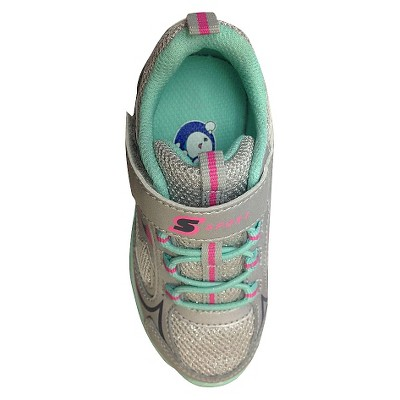 a0792f584ad9 Toddler Girls  S Sport By Skechers Washabubbles Performance Athletic Shoes  - Silver 11