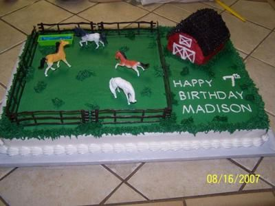 Horse Birthday Cakes For Boys Traverse CityMichigan United - Horse themed birthday cakes