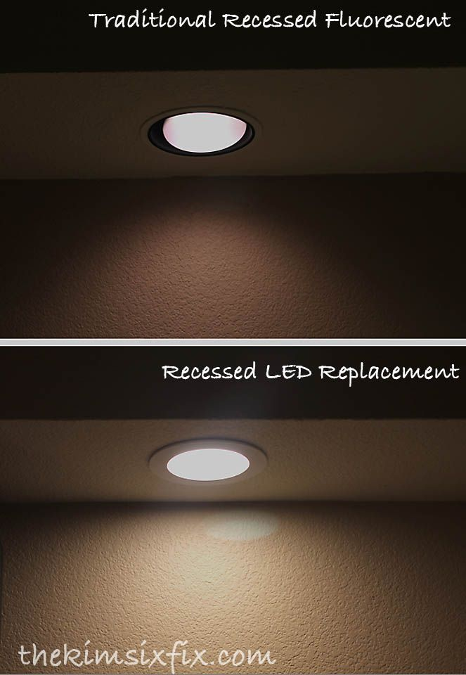 Upgrade to LED recessed lighting. Almost as easy as changing a ...