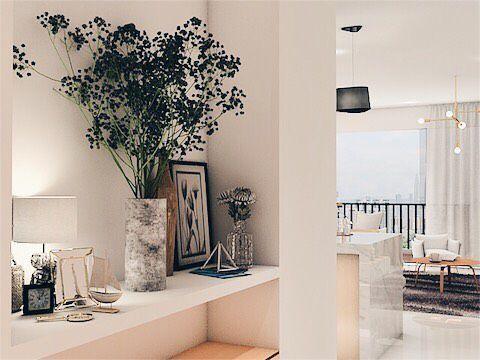 Modern Minimalist Marigold At Nava Park Apartment Tangerang Inka Design Apartment Interior Design Interior