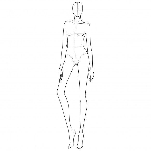 Photo of Fashion body figure template