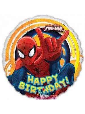 Spiderman Parti Malzemeleri Balon Dogum Gunu Partileri Balon Suslemeleri Parti Dogum Gunu Balonlari