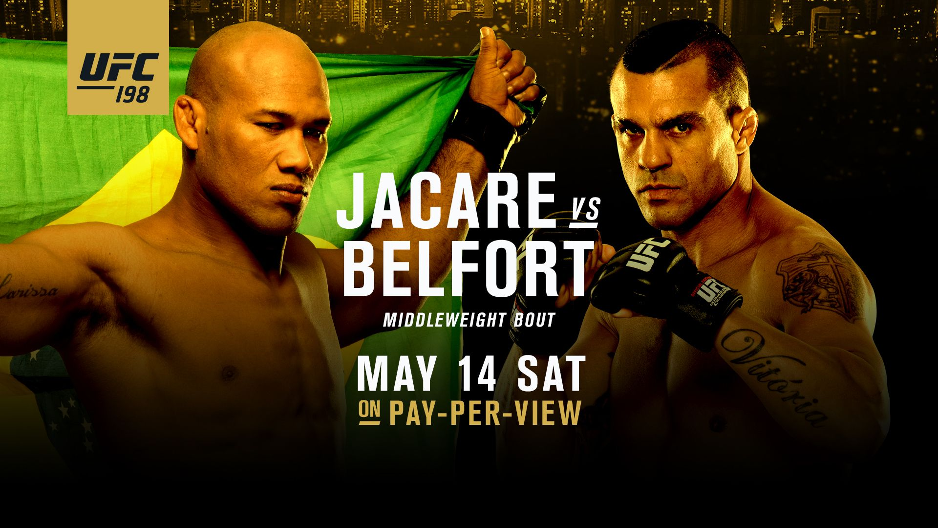 Always showing all ufc fights coming up on saturday may
