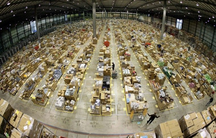 Inside Amazon Warehouses Around The World Around The Worlds