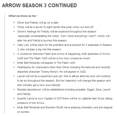 What We Know About Arrow Season 3 I M Soo Excited For The New Love Interest For Laurel And The Tommy Flashbacks Arrow Season 3 Olicity Oliver And Felicity