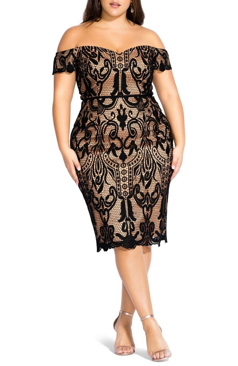 41++ Plus size off the shoulder dress ideas in 2021
