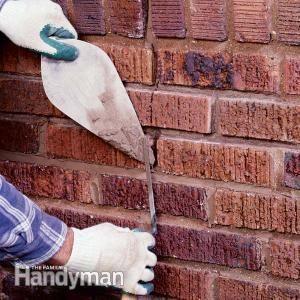 How To Repair Mortar Joints Brick Repair Home Repairs Mortar Repair