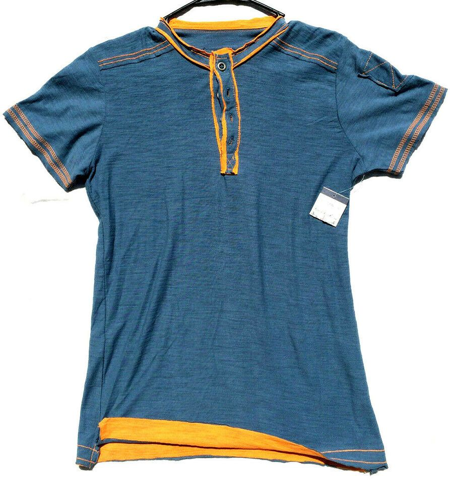Denim & Rivets Jeans 1996 Men's Small Petrol Orange Short