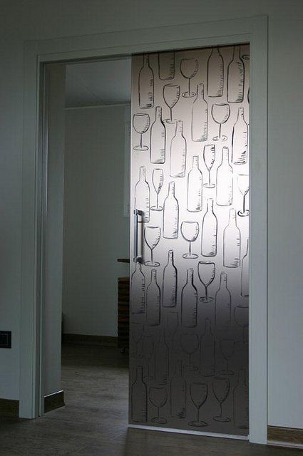 Vidreglass puerta corredera en vidrio pintado http - Puerta vidrio corredera ...