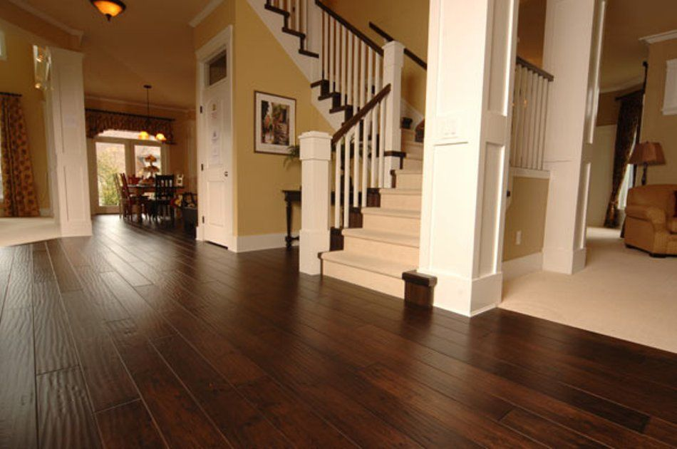 Hand Scraped Hardwood Flooring Pros And Cons Home Hardwood
