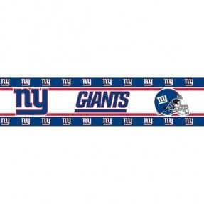 New York Giants Border Wall Sticker