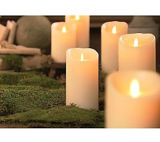 "Qvc Flameless Candles Amusing Luminara 7"" Battery Operated Flameless Candle Wtimer  Qvc Review"