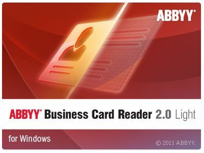 Abbyy business card reader 20 light 110104181 abbyy business abbyy business card reader 20 light 110104181 abbyy business card reader 20 for windows automatically digitizes paper business cards data a reheart Gallery