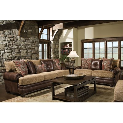 Loon Peak Poythress 2 Piece Living, Two Piece Living Room Set