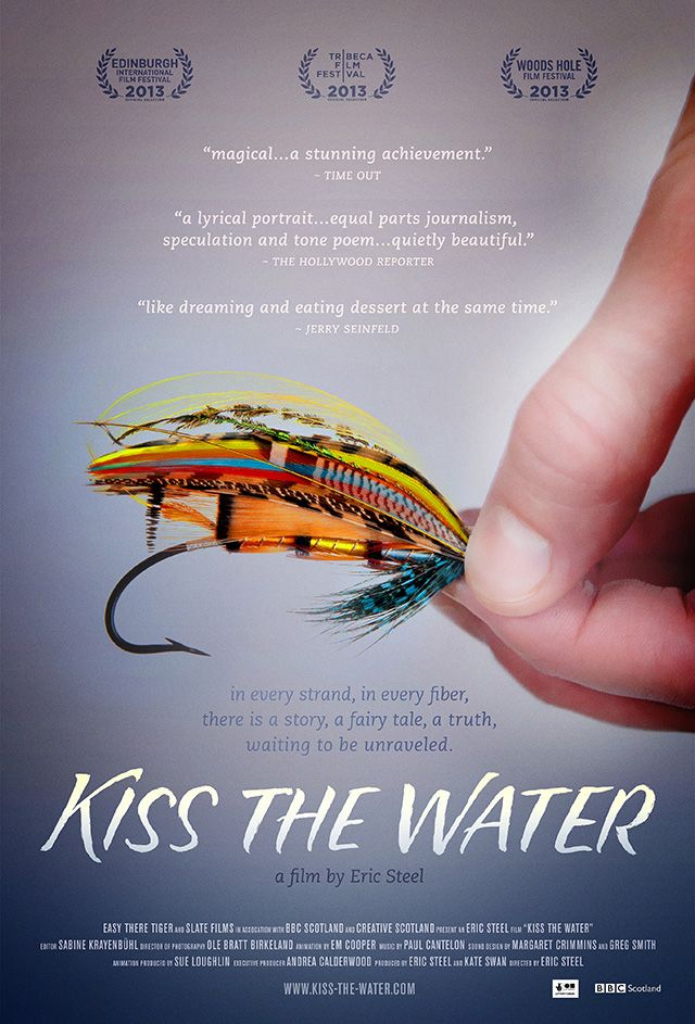 Kiss The Water A Documentary Film About Celebrated Fishing Fly Maker Megan Boyd Fly Fishing Documentary Film Documentaries