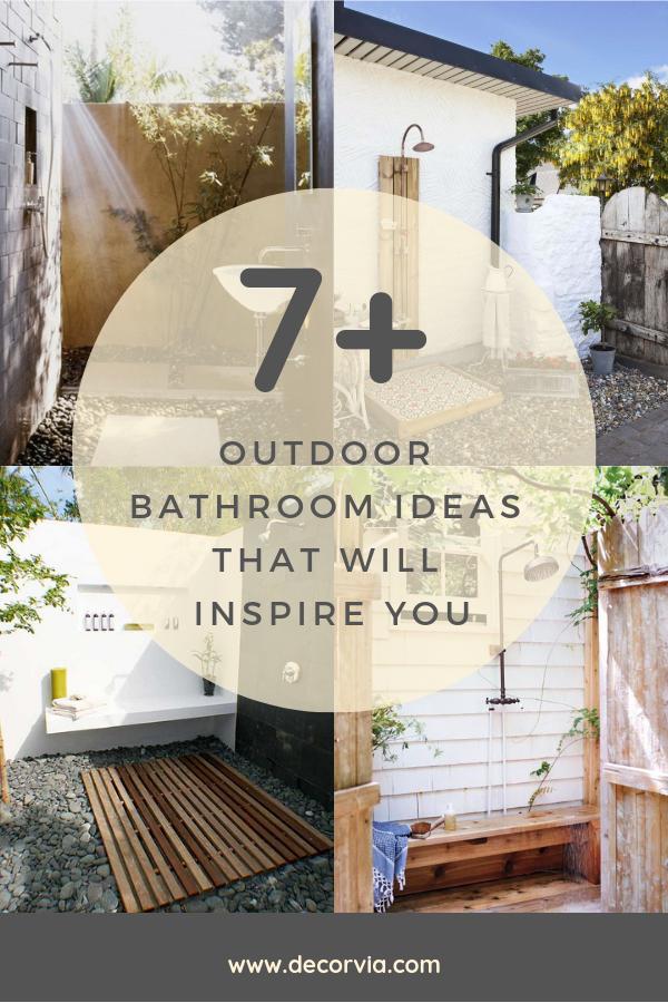 Outdoor Toilet Shower Design Images Indoor Outdoor Bathroom