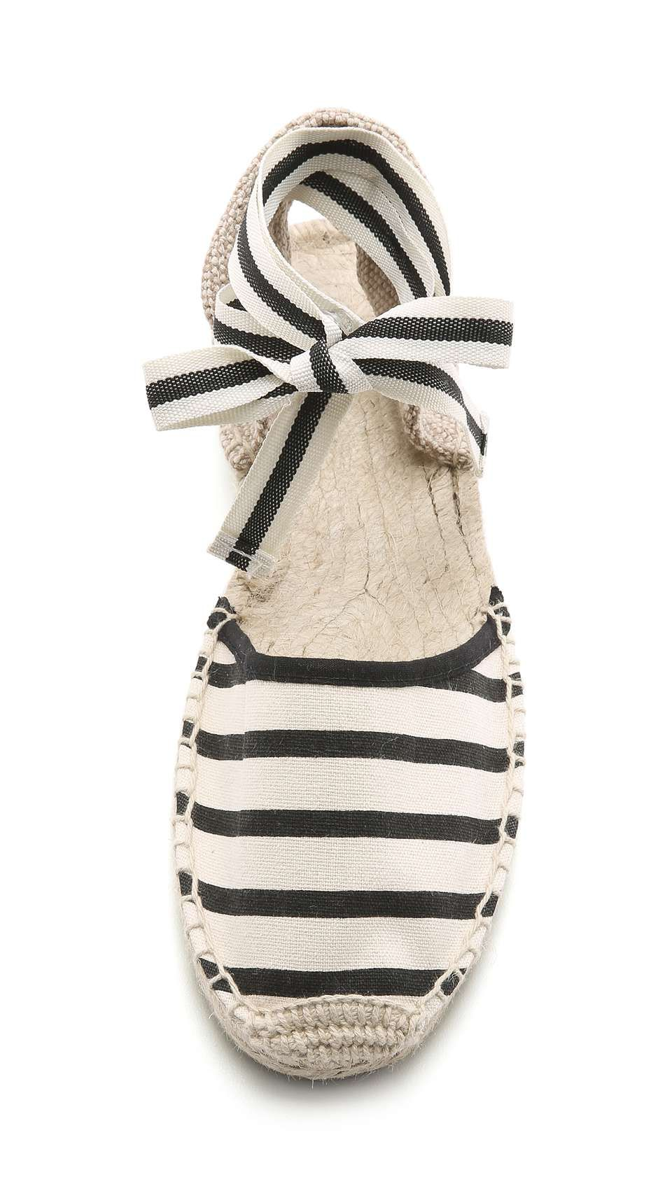 4bc42c0954d Soludos Classic Striped Espadrille Sandals Wantering