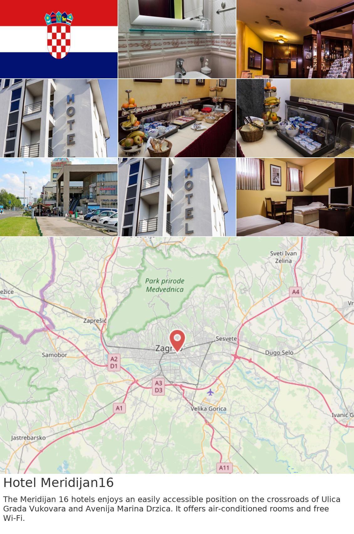 Europe Croatia Zagreb Hotel Meridijan16 The Meridijan 16 Hotels Enjoys An Easily Accessible Position On The Crossroads Of Ulica Grada Vukovara And Avenija M