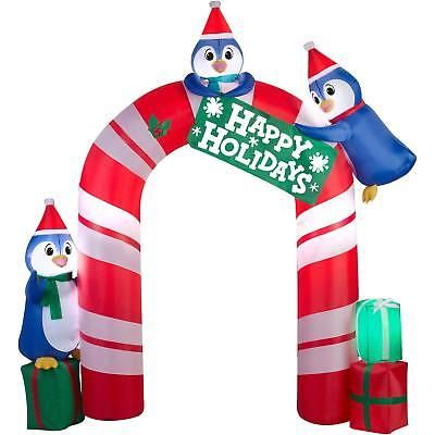 Inflatables Christmas Decoration Penguin Archway Airblown Outdoor - inflatable christmas yard decorations