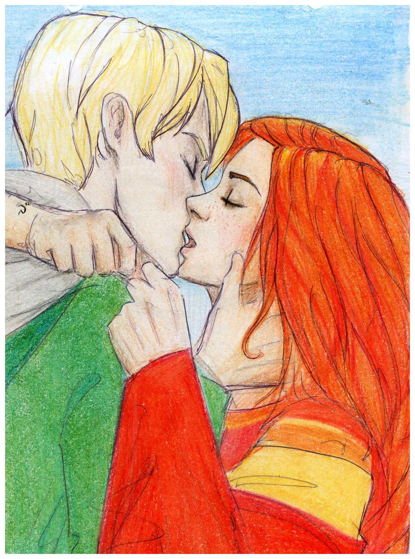 Scorpius N Rose By Dinoralp Deviantart Com On Deviantart Harry Potter Fan Art Rose And Scorpius Harry Potter Ships