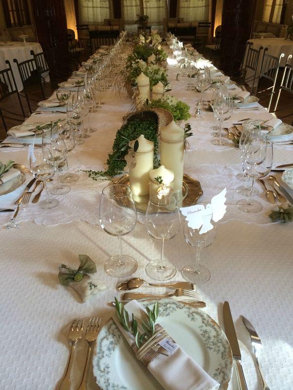 M dailles pour sachets de drag es premi re communion d 39 alexandre d co de table coque - Deco de table communion fille ...