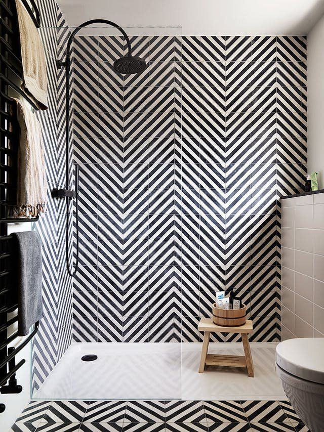 Maximalist Bathrooms That Pack In Tons Of Tile We Love Them For It Bathroom Tile Designs Bathroom Interior Bathroom Interior Design