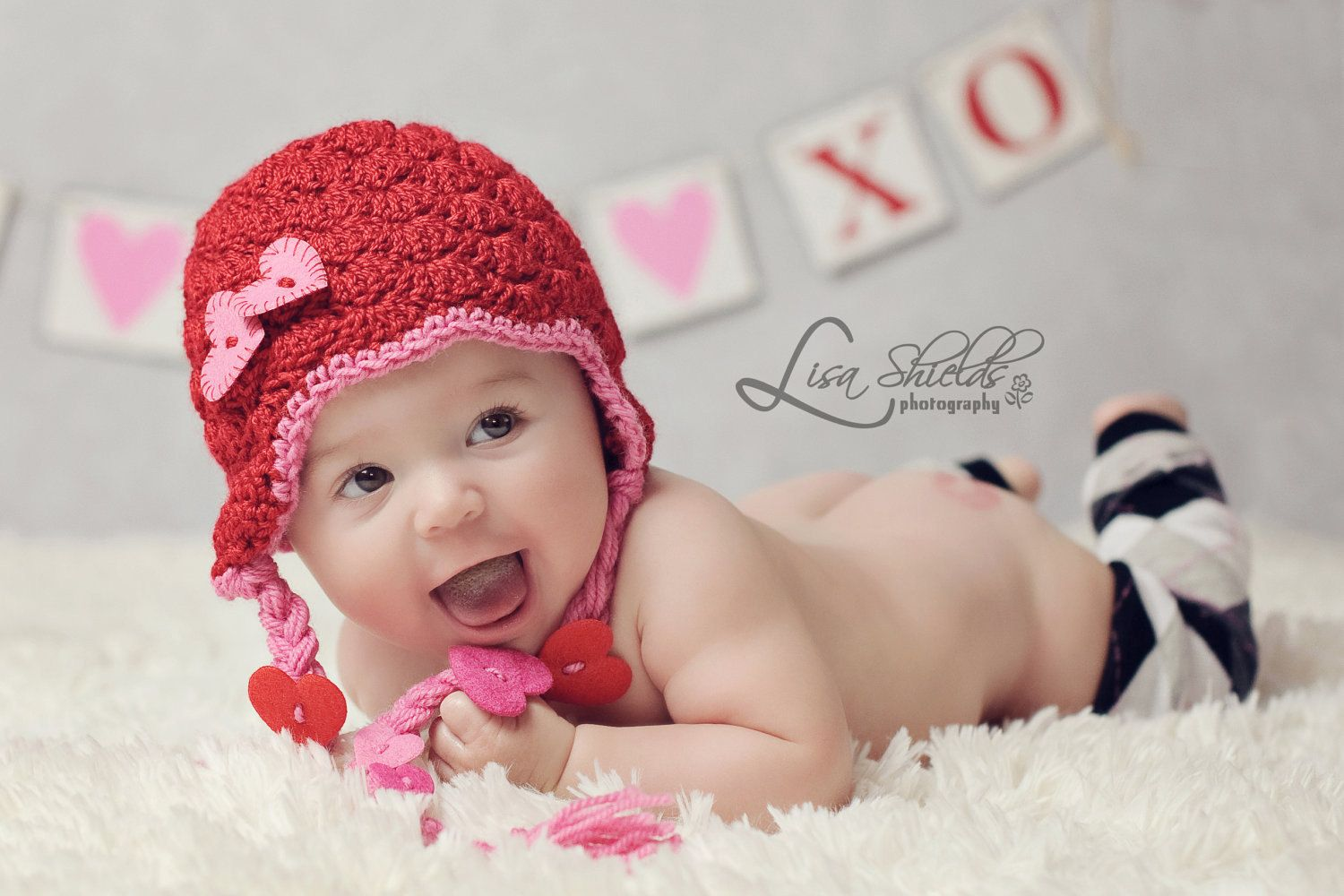 Valentines Day Hat with heart photo prop. $25.00, via Etsy ...