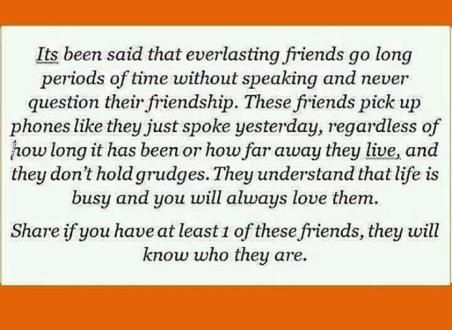 About friendship