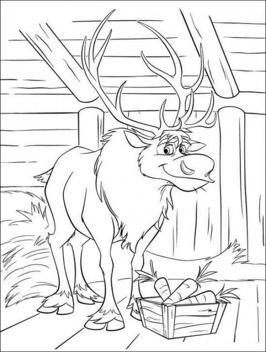 15 Free Disney Frozen Coloring Pages | Silueta frozen, Dibujos ...