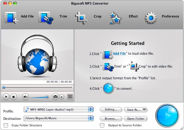 Convert MP3 on Mac or Convert to MP3 on Mac. Converter
