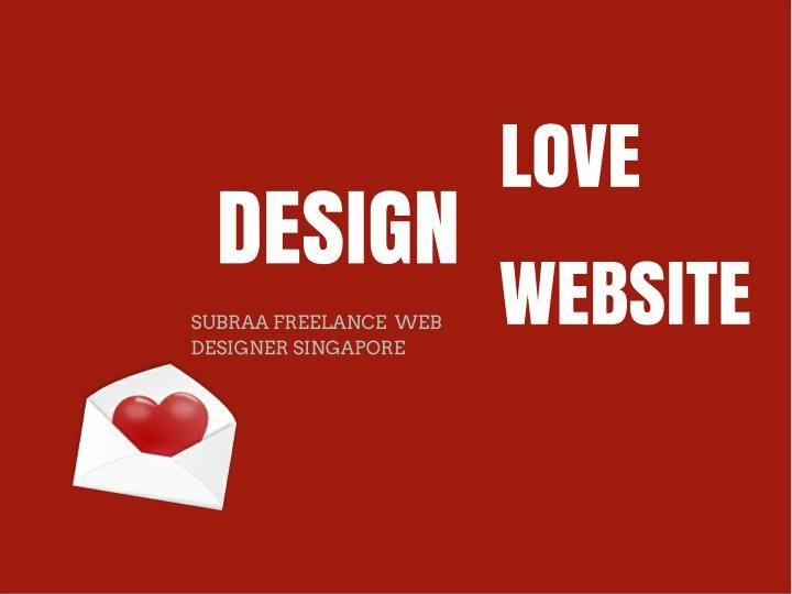 Freelance Web Designer Singapore Freelance Web Design Web Design Website Design