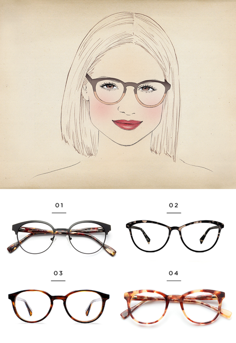 The Best Glasses for All Face Shapes | Pinterest | Warby parker ...