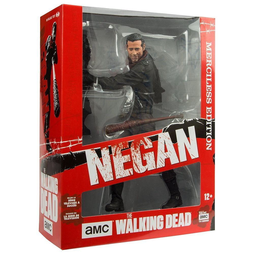 McFarlane Toys The Walking Dead 10-inch Negan Deluxe Figure AMC