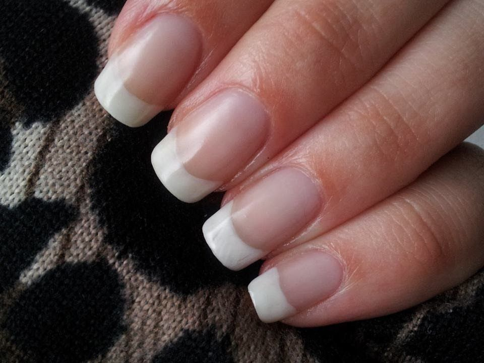Nail Care Routine ~ Natural French Manicure (no nailpolish manicure ...