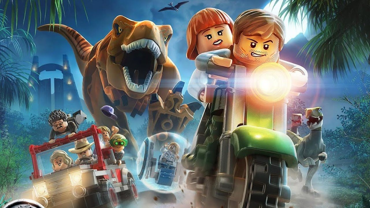 Super Doodies  LEGO Jurassic World Full Length Movies 2017  Action Cartoons for Children