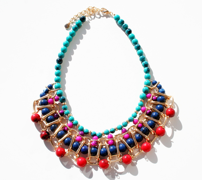 Bauble Necklace- How fabulous for Spring!